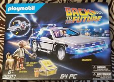 playmobil Back To The Future 70317 DeLorean Time Machine In Hand, Ships Fast