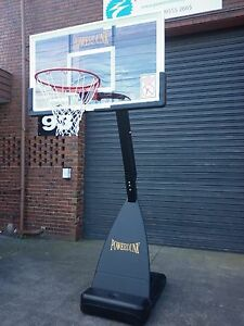 54inch Powerdunk Pro Portable Adjustable Basketball Hoop extra strong Ring