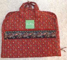 f48e4d7840d6 VERA BRADLEY Hanging Clothes GARMENT BAG - VINTAGE Pattern - Colette Red -  Nice!