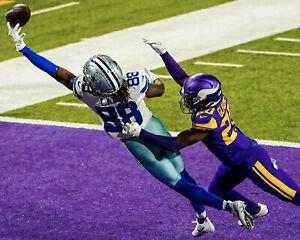 CeeDee Lamb - Cowboys,(catch vs Vikings 2020-11-22),  8x10 Color Photo