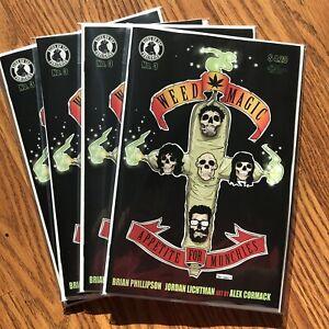 Weed Magic #3 Guns n Roses Homage Cover. VF/NM