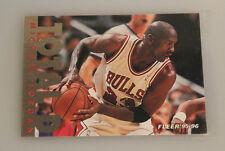 1995-96 Fleer michael jordan total d