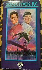 Star Trek IV: The Voyage Home (VHS) William Shatner, Leonard Nimoy, George Takei