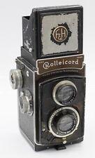 Rollei Rolleicord II 1st Model 120 Film TLR Camera CSJ Triotar 7.5cm F3.5 Lens