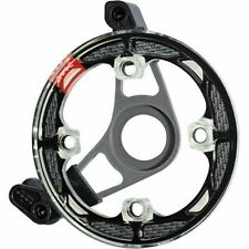 Gamut P30 Single chain guide BB mount, Black bash guard, fits 36 Tooth  Ring.