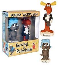 Funko--Rocky and Bullwinkle - Wacky Wobbler 2-Pack