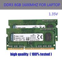 Für Kingston 8GB 16GB 32GB 64GB DDR3L-1600MHz PC3L-12800 Laptop Speicher RHNDE