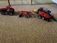 ERTL Case Agriculture Magnum 305 w/Disc Ripper/Baler Thirty Plus
