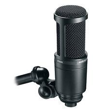 Audio-Technica AT2020 AT-2020 Large-Diaphgram Recording Condenser Microphone
