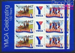 Neuseeland 2234Klb-2239Klb Kleinbogen postfrisch 2005 YMCA (8882627