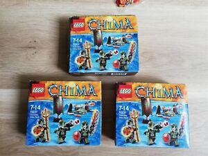 LEGO - Chima - X3 BULK SETS CROCODILE TRIBE PACK - BNIB - 70231