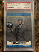 2012 Panini NBA Hoops #275 Anthony Davis ROOKIE RC PSA 10 GEM MINT HOT CARD