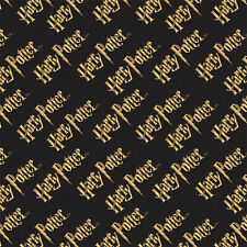 Logo - Harry Potter Cotton Fabric Material