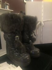Luxury Original DIOR Moonboots SNOWBOOT Logoprint as new SOLD OUT  38-40