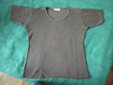 ZERO-Kurzarm-T-Shirt, Shortsleeve, matt-braun, Gr. 42-44-46 / L-XL