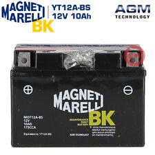 BATTERIA MAGNETI MARELLI 10AH YT12A-BS per SUZUKI GSX R 1000 (K5/K6) 2005-2006