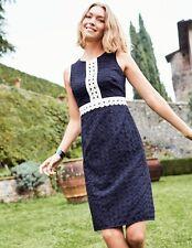 Boden Lydia Lace Dress Navy Blue Size 18L LF078 ii 17