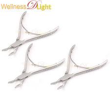 "Wdl 3 Pieces Blumenthal Bone Rongeur 30 Degree 4.5""Surgical Dental Instruments"