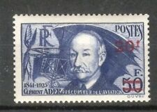 """FRANCE STAMP TIMBRE N° 493 """" CLEMENT ADER  AVION 20F SUR 50F """" NEUF xx TTB A192"""