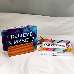 Motivation Quote Cards happy positive inspiration gift teacher friend present