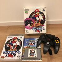 Nintendo 64 Mario Kart 64 w/Box Manual Controller Complete set N64 Game Japan