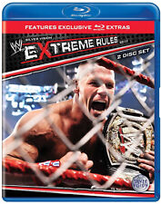 WWE Extreme Rules 2011 2x BLU-RAY DEUTSCH