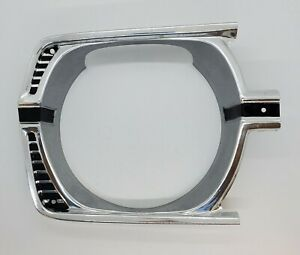 1967 Plymouth Valiant Right Headlight Bezel 2582020 NOS