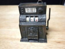 ANTIQUE DIE-CAST SLOT MACHINE PENCIL SHARPENER