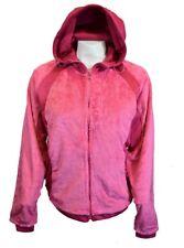 Women Sweater Jacket Long Sleeve Warm Ladies Zip Up Canyon Creek Fleece Pink NEW
