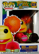 FRAGGLE ROCK Red & Doozer - Limited Flocked Edition - Funko Pop! Die Fraggles