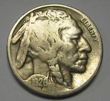 1926 Buffalo Nickel Grading in Average Circulated Condition Nice Coins     DUTCH