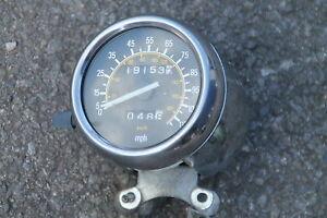 YAMAHA XV535 XV 535 VIRAGO LOW MILEAGE MPH CLOCKS DASH ODOMETER