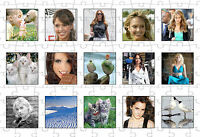 Personalised Photo Collage Jigsaw Puzzle. Personalise with your own 15 Photos