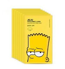 [The Face Shop] JEJU Volcanic Ash Nose Strips ( 7pcs) - The Simpsons Edition