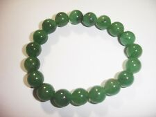 Green Aventurine 10mm Bracelet Chakra Crystal Balance Prayer Yoga Meditation