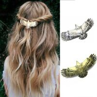 1pc Medieval Women Hair Pin Alloy Raven Eagle Hairpin Long Hair Accessories
