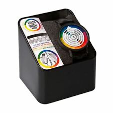 Funky Retro Colour Wheel Style Wristwatch - Boxed Gift Black New