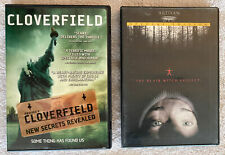 Cloverfield (Pg-13) Dvd + The Blair Witch Project (R) Dvd