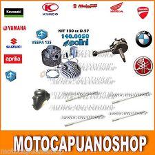 KIT MODIFICA CILINDRO 130 POLINI + ALBERO MOTORE APE 50 TM FL FL2 FL3