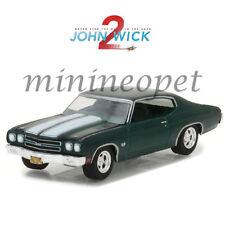 GREENLIGHT 44780 F JOHN WICK MOVIE CHAPTER 2 1970 CHEVROLET CHEVELLE SS 396 1/64