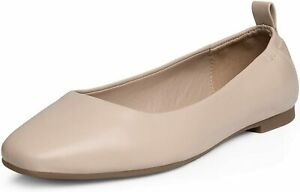 DREAM PAIRS Womens Ballet Flat Square Toe Comfort Slip On Flat Shoes US Size