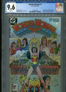 Wonder Woman #1  (New Origin)   CGC 9.6  WP