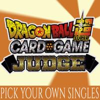 DRAGON BALL JUDGE PROMOS MULTILISTING (Foils)