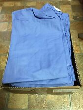 Case of 24 Medline 700PTH-CM Encore Drawstring Scrub Pants - Ceil Blue - Small