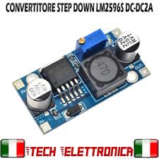 Convertitore regolabile LM2596S LM2596 DC-DC step down 5V 12V 2A Arduino