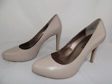 MODA SPANA Taupe Heels Shoes Stiletto Pumps Women's Size 8.5 M