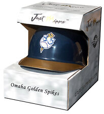 Omaha Golden Spikes (Storm Chasers)  Mini-Helmet Just Minors - Old Style