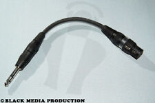 Adapter Kabel XLR Buchse - Klinke Stecker 6,3mm symmetrisch *NEU*
