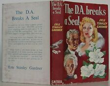 ERLE STANLEY GARDNER The D.A. Breaks a Seal FIRST EDITION