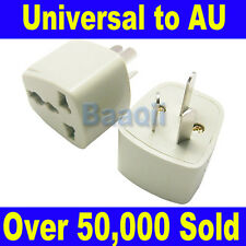 UK/US/EU Universal to AU AC Power Plug Adapter Travel 3 pin Converter  EW